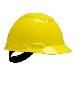 Capacete Aba Frontal H700 Classe B 3M amarelo