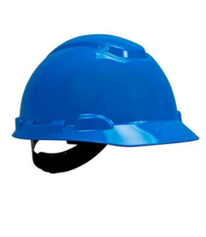 Capacete Aba Frontal H700 Classe B 3M azul